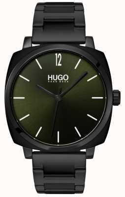 HUGO #own | Black IP Bracelet | Black Dial 1530081