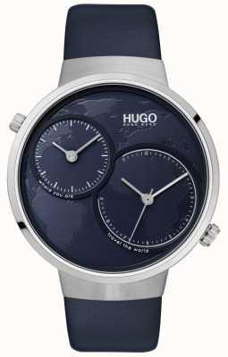 HUGO #travel | Blue Leather Strap | Blue Dial 1530053