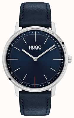 HUGO #exist | Blue Leather Strap | Blue Dial 1520008