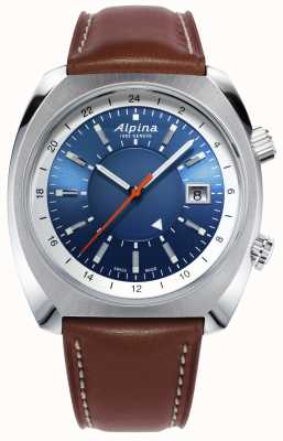 Alpina | Startimer Pilot Heritage | Automatic | Brown Leather | AL-555LNS4H6