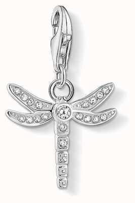 Thomas Sabo   Charm Pendant 'Dragonfly'   White Zirconia   1800-051-14