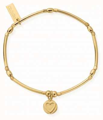 ChloBo   Sterling Silver Gold Plated 'Self Love' Bracelet   GBMNCR2561