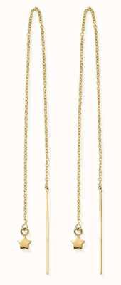 ChloBo   Sterling Silver Gold Plated 'Dream Achiever' Earrings   GEDR2569
