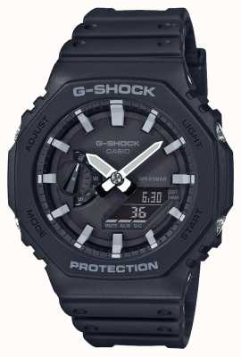 Casio | G-Shock Carbon Core | Octagon Series | Black Resin Strap | GA-2100-1AER