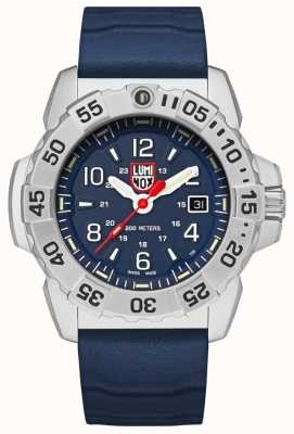 Luminox | Navy Seal Steel 3250 Series | Blue Rubber Strap |Blue Dial XS.3253