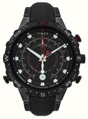 Timex | Allied 45mm | Black Fabric Strap | Black Dial | TW2T76400