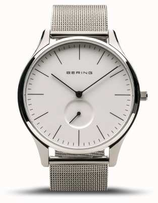 Bering | Classic | Men's Polished Silver | Steel Mesh Bracelet | 16641-004