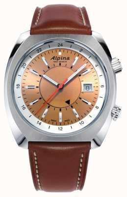 Alpina Men's Startimer Pilot Heritage AL-555RGS4H6