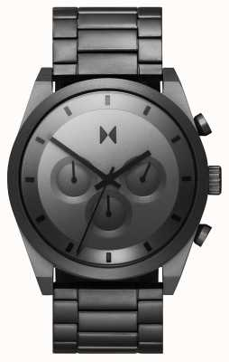 MVMT Element Chrono | Grey Stainless Steel Bracelet | Grey Dial 28000048-D