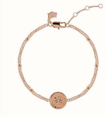 Radley Jewellery Star Gazing | Rose Gold Plated Moon And Stars Bracelet | RYJ3070S