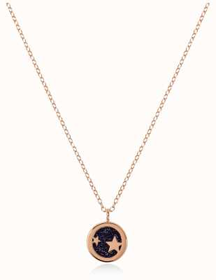 Radley Jewellery Stay Magical | Rose Gold Plated Sandstone Necklace | RYJ2100