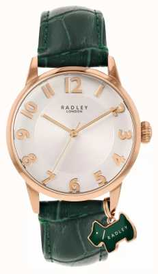 Radley Liverpool Street | Green Leather Strap | White Dial | RY2870