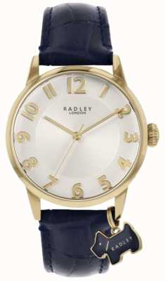 Radley Liverpool Street | Blue Leather Strap | Silver Dial | RY2868