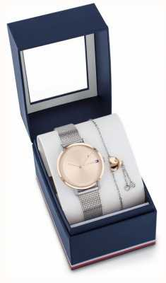 Tommy Hilfiger Women's Pippa Watch And Bracelet Gift Set 2770053