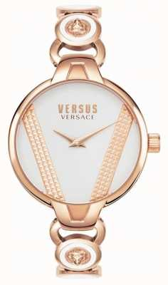 Versus Versace | Saint Germain | Rose Gold Tone Stainless Steel |White Dial VSPER0419