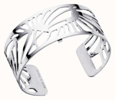 Les Georgettes 25mm Palmeraie Silver Finish Bangle 70295921600000
