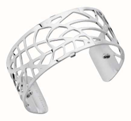 Les Georgettes 25mm Fougeres Silver Finish Bangle 70284081600000