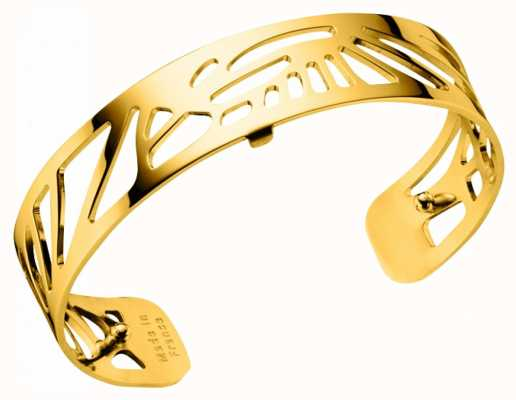 Les Georgettes 14mm Palmeraie Gold Plated Bangle 70295930100000