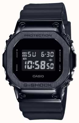 Casio G-Shock Metal Bezel Series | Black Resin Strap | Digital GM-5600B-1ER