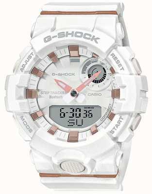 Casio   G-Shock G-Squad   White Rubber Strap   Bluetooth Smart   GMA-B800-7AER