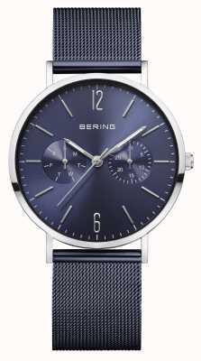 Bering | Women's Classic | Blue Mesh Bracelet | Blue Dial | 14236-303