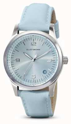 Elliot Brown | Women's | Kimmeridge | Aqua Sunray Dial | Aqua Strap | 405-015-L61