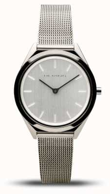 Bering   Unisex   Ultra-Slim   Silver Mesh Bracelet   17031-000