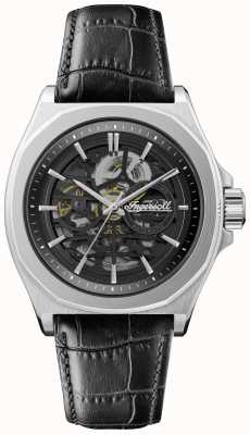 Ingersoll Men's 1892 The Orville | Automatic | Black Leather Strap | I09302B