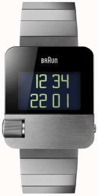 Braun Men's | Prestige | Digital | Black Bracelet BN0106BKBTG