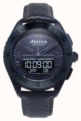 Alpina AlpinarX | Space Edition | Smartwatch | Blue Leather Strap AL-283SEN5NAQ6
