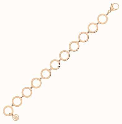Tommy Hilfiger | Dressed Up | Women's Rose Gold Tone Circle Bracelet | 2780313
