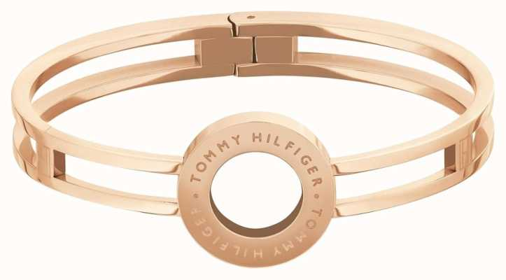 Tommy Hilfiger | Dressed Up | Women's Circle Rose Gold Tone Bangle | 2780316