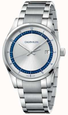 Calvin Klein | Completion | Stainless Steel Silver Bracelet | Silver Dial KAM21146