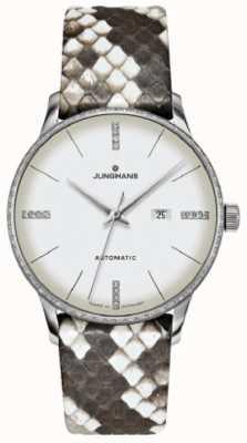 Junghans Meister Ladies Automatic Snakeskin 027/4047.00