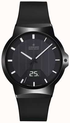 Junghans Force Mega Solar Black Rubber Strap 018/1000.00