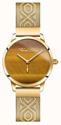 Thomas Sabo | Glam And Soul | Women's Garden Spirit | Tigers Eye Gold WA0364-264-205-33