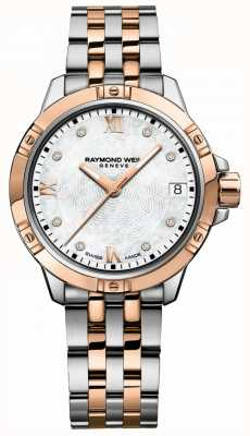 Raymond Weil | Women's Tango | Two-Tone Steel Bracelet | Mother Of Pearl 5960-SP5-00995