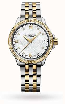Raymond Weil | Women's Tango | Two-Tone Steel Bracelet | Mother Of Pearl 5960-SPS-00995