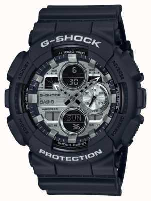 Casio | G-Shock World Time | Black Rubber | Black Dial GA-140GM-1A1ER