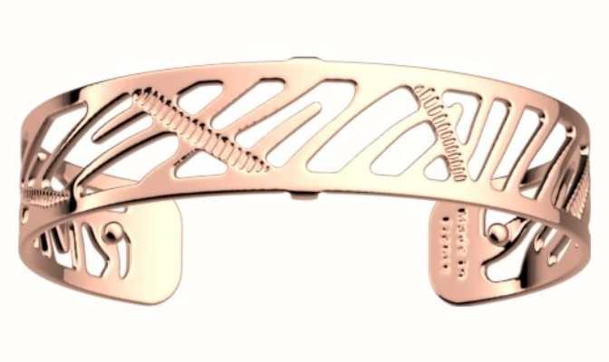 Les Georgettes 14mm Zebrures Rose Gold Finish Bangle 70346604000000