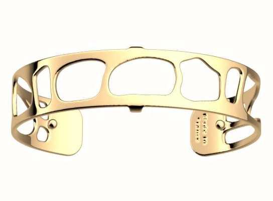 Les Georgettes 14mm Leopard Gold Finish Bangle 70346630100000