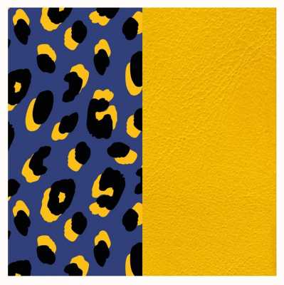 Les Georgettes 25mm Leather Insert | Leopard Print/Sun 702755199P5000