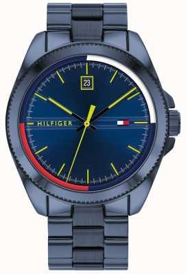 Tommy Hilfiger Riley   Blue IP Steel Bracelet   Blue Dial 1791689