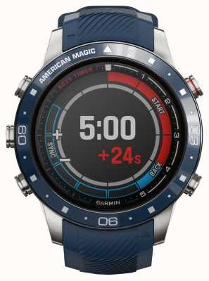 Garmin MARQ Captain | American Magic Edition (Blue and Red Straps) 010-02454-01