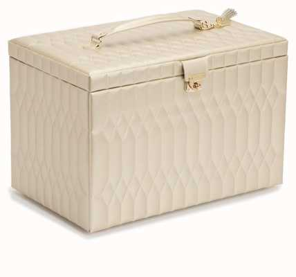 WOLF Caroline Champagne Extra Large Jewellery Box 329546