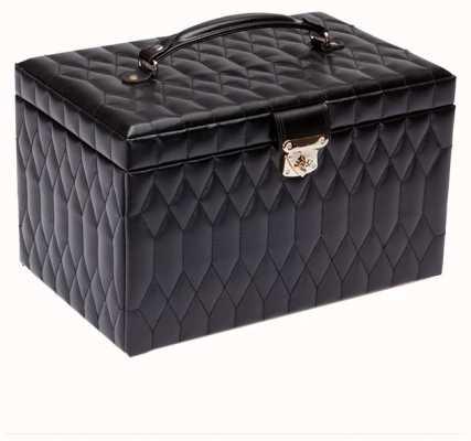 WOLF Caroline Black Extra Large Jewellery Box 329571
