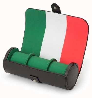 WOLF Navigator Italian Flag Triple Watch Roll 470404