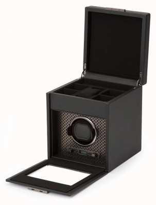WOLF Axis Powder Coat Single Watch Winder With Storage 469203