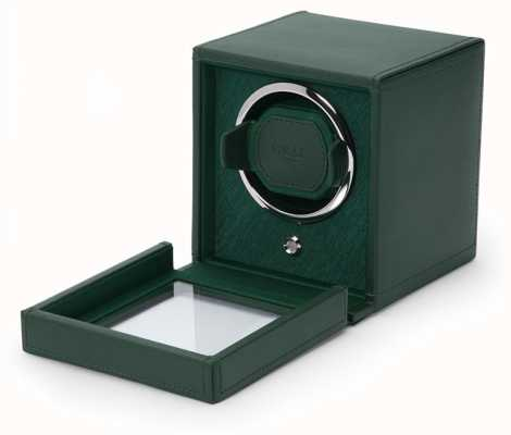WOLF Cubs Green Single Watch Winder With Cover 461141