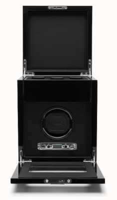 WOLF Savoy Black Single Winder With Storage 454570